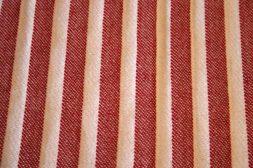 Free Stock Photo of Red and white cloth