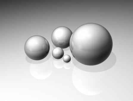 Free Stock Photo of Reflecting Spheres