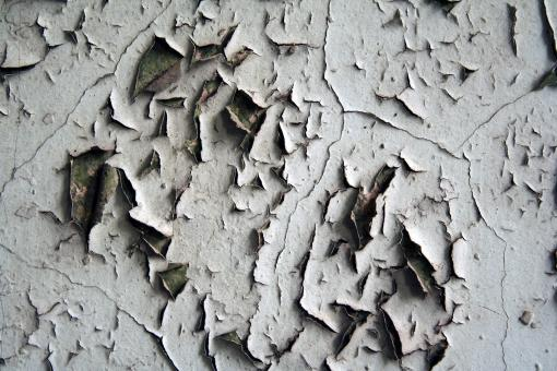 Free Stock Photo of Ripped up wall