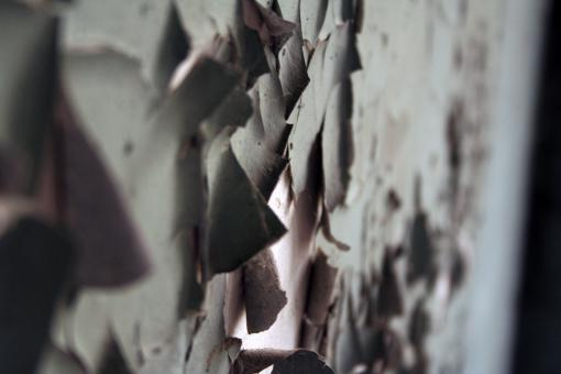 Free Stock Photo of Wall ripped open