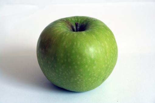 Free Stock Photo of Green Apple