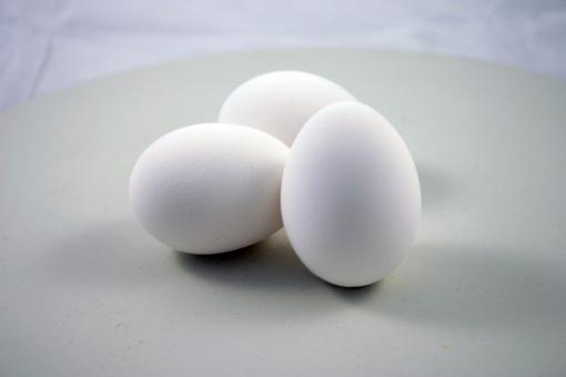 Free Stock Photo of Three eggs