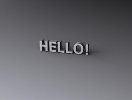 Free Stock Photo of Hello!