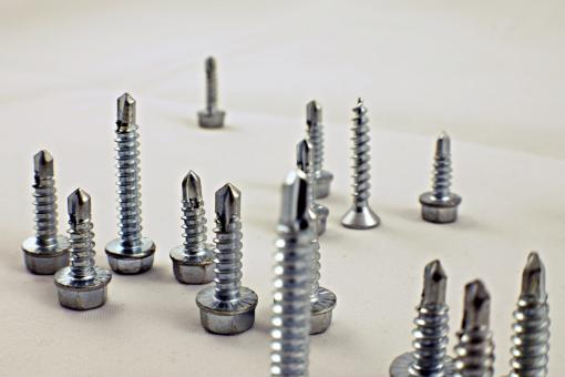 Free Stock Photo of Drill screws end up