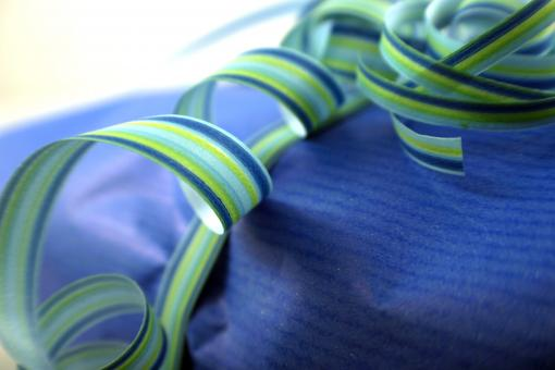 Free Stock Photo of Curly ribbon