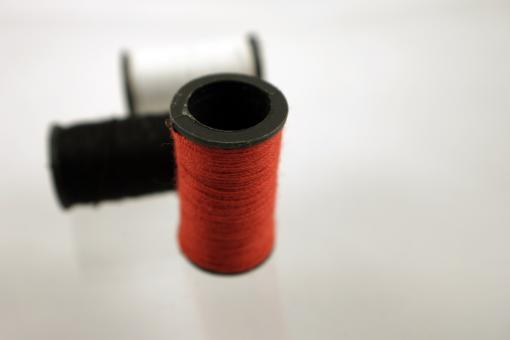 Free Stock Photo of Red thread