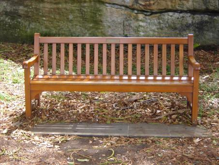 Free Stock Photo of Wooden bench