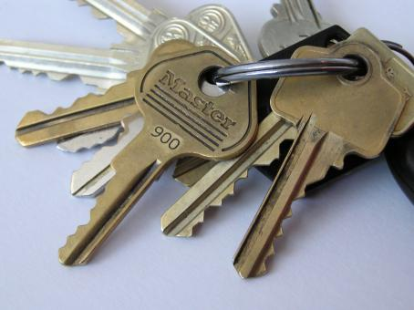Free Stock Photo of Key chain