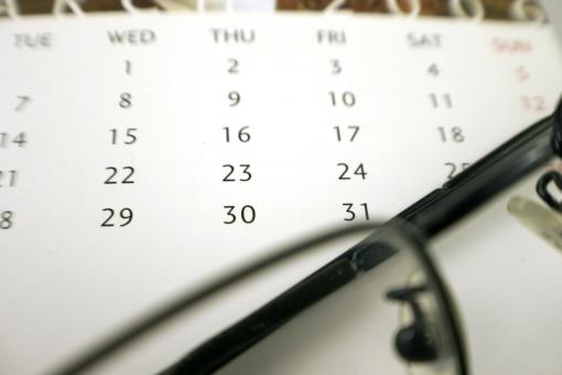 Free Stock Photo of Calender