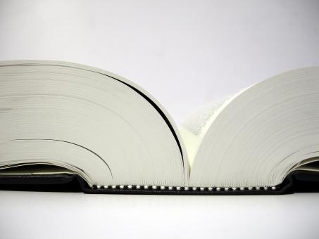 Free Stock Photo of Open book