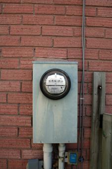 Free Stock Photo of Electric meter