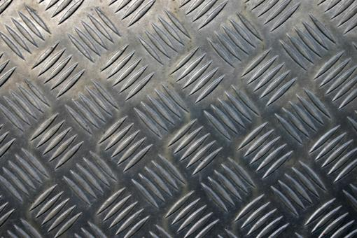 Free Stock Photo of Steel floor plate