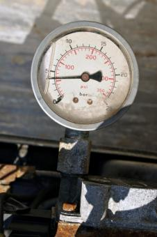 Free Stock Photo of Pressure gauge