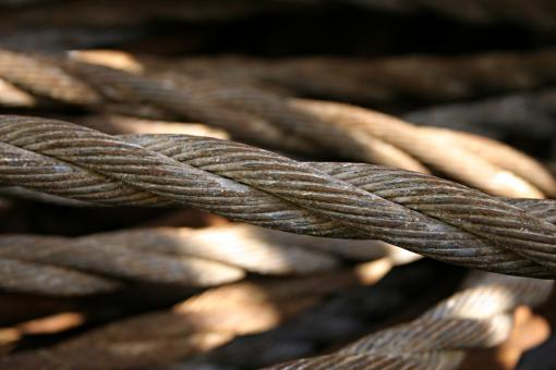 Free Stock Photo of Steel wires