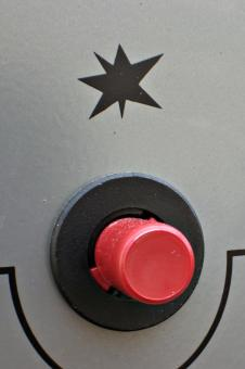 Free Stock Photo of Red button