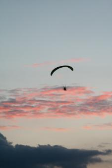 Free Stock Photo of Paraglider
