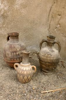 Free Stock Photo of African pottery