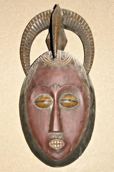 Free Stock Photo of African tribal mask