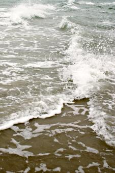 Free Stock Photo of Splashing sea