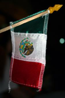 Free Stock Photo of Mexican flag