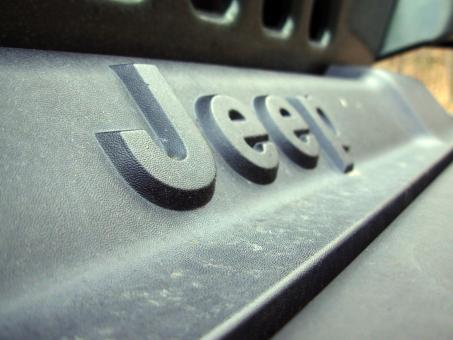 Free Stock Photo of Jeep letters
