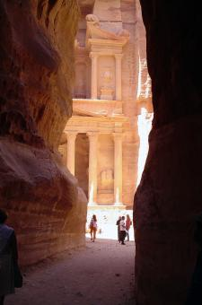 Free Stock Photo of Treasury at Petra