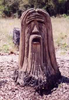 Free Stock Photo of Jesus Stump