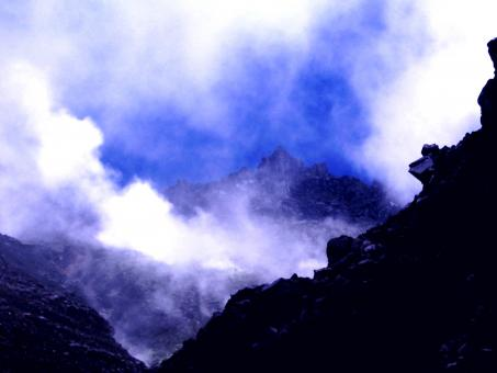 Free Stock Photo of Volcanic smoke
