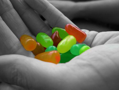 Free Stock Photo of Jelly Beans