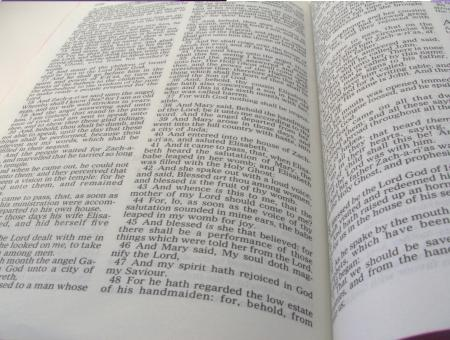 Free Stock Photo of biblical pages