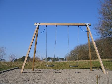 Free Stock Photo of Giant swingset
