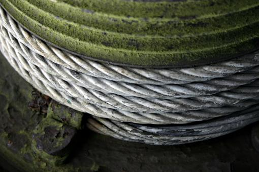 Free Stock Photo of Steel Cable