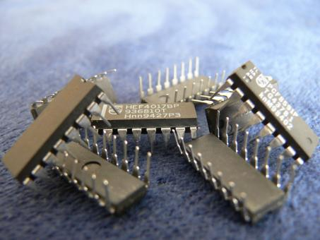 Free Stock Photo of Integrated circuits