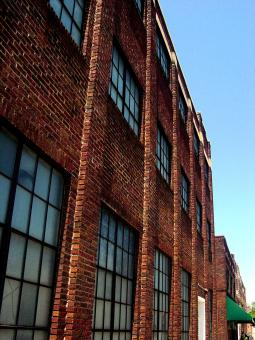 Free Stock Photo of Old downtown warehouse