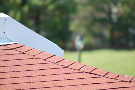 Free Stock Photo of red roof