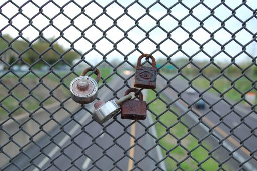 Free Stock Photo of Rusted locks