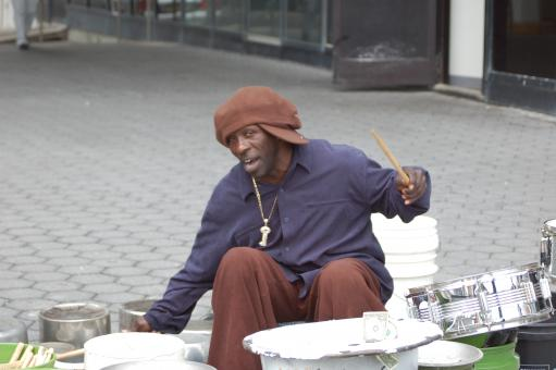 Free Stock Photo of Street Performer