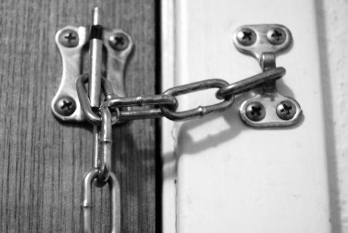 Free Stock Photo of Chain Lock