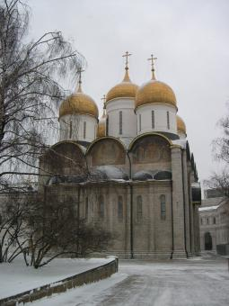Free Stock Photo of Cathedral of the Dormition, Moscow