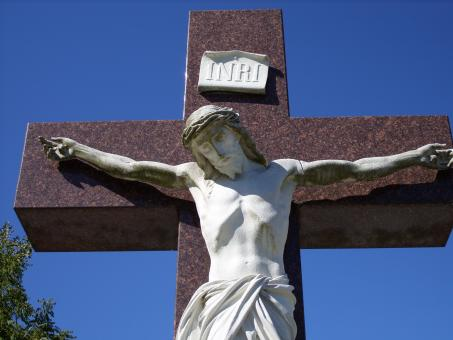 Free Stock Photo of Jesus statue