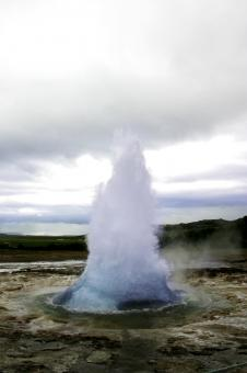 Free Stock Photo of Icelandic Geyser
