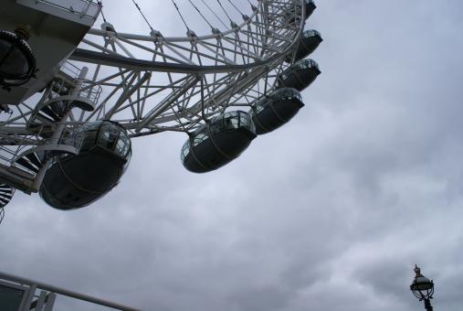 Free Stock Photo of The london eye
