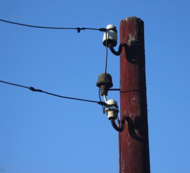 Free Stock Photo of Power line