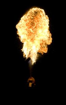 Free Stock Photo of Fire form the night