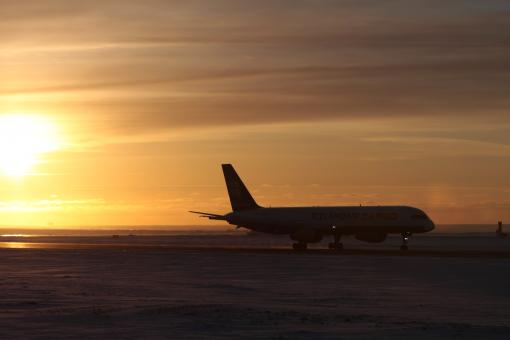 Free Stock Photo of Icelandair cargo
