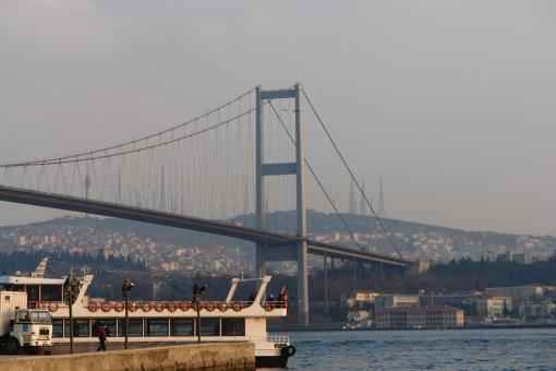 Free Stock Photo of Istanbul Bosphorus Bridge