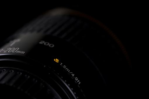 Free Stock Photo of Macro specs on a 200mm lens