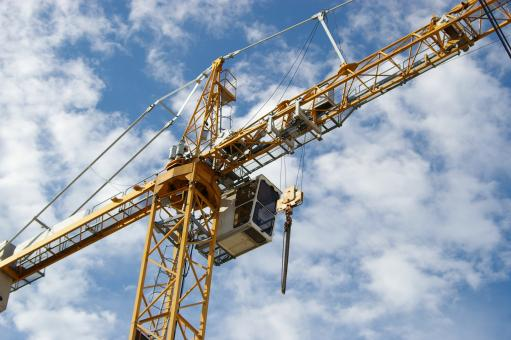 Free Stock Photo of Construction Crane