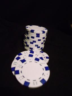 Free Stock Photo of Poker Chips