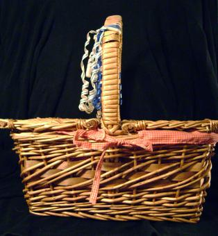 Free Stock Photo of Picnic Basket